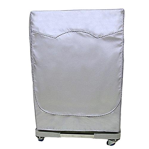 Washing Machine Cover Automatic Turbine Roller Dustproof Sunscreen  Waterproof # XL