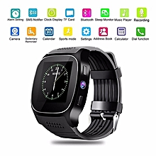 T8 Bluetooth Smart Watch Support SIM TF Card LBS Locating with Camera smartwatch Sports wristwatch for Android phone BDZ