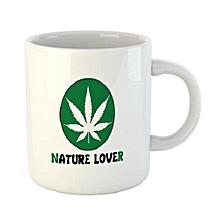 Nature Mug -white