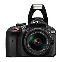 D3400 - 24.2 MP - Digital SLR Camera - with AF-P DX NIKKOR 18-55mm f/3.5-5.6G VR Lens Kit - Black