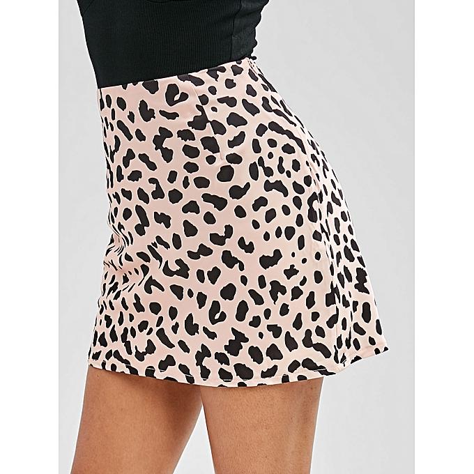 da3d03de5c ZAFUL Spot Print Mini Skirt,Leopard @ Best Price | Jumia Kenya