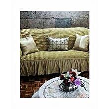 Sofa Seat Covers - 3+2+1+1  - Jungle Green