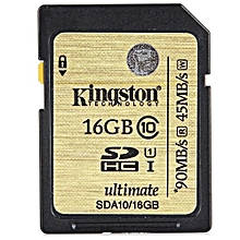 Practical 16GB Class 10 90MB/s UHS-I SDHC SDXC Extra Memory Card_GOLDEN