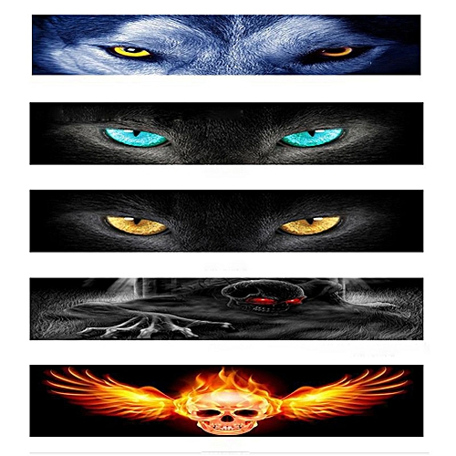 Car Front Windshield Sticker Rear Car Stickers Front File Stickers  Decorative Shade 3D Stereo Car Stickers