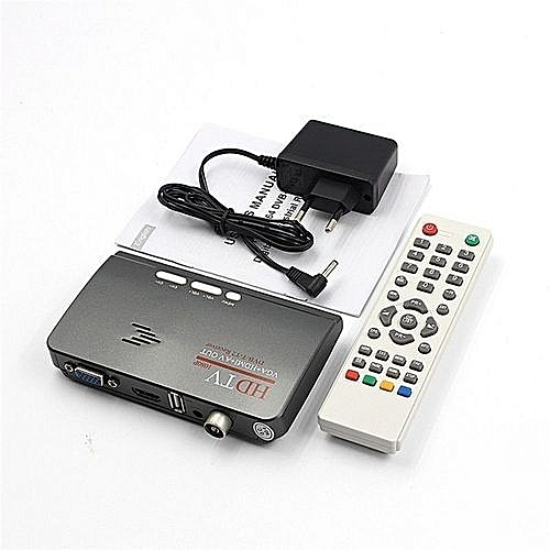 Digital TV Box DVB- T2 Receiver TV COMBO DIGITAL - Black