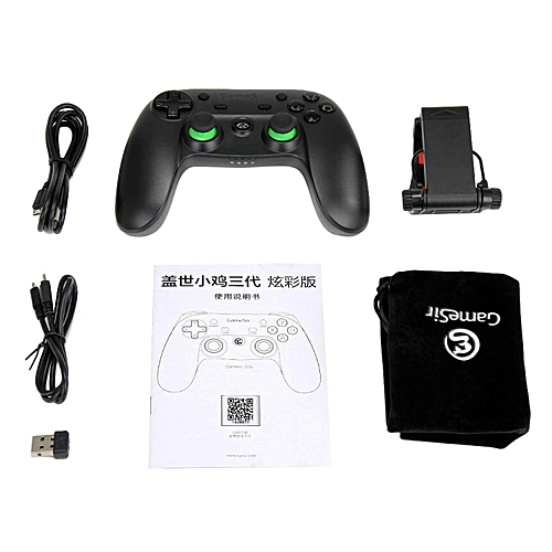 HonTai GameSir G3s Enhanced Edition Wireless Gamepad 2 4GHz Bluetooth 4 0  Connection for iOS/Android/Windows/PS3-Green