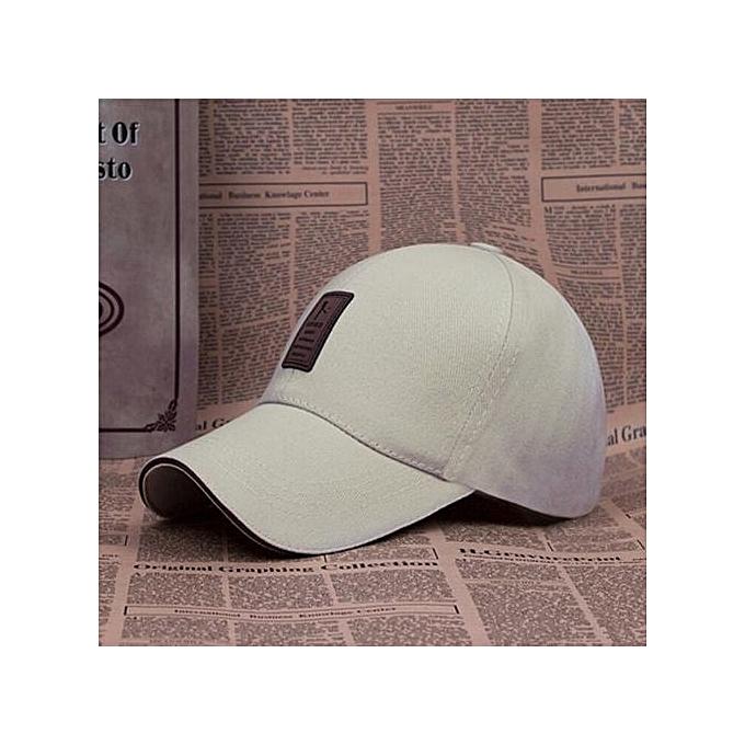 b0d5a4c99 Cap Man Bone Baseball Hat For Men Baseball Cap Golf Cap Hat Man Sport Hat  Men Adjustable(Beige)