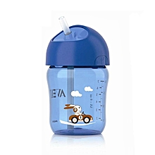 AVENT 340ml Baby Straw Cup Water Drinking BPA Free Bottle Feeding Cup For 18 m+ Blue