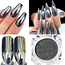 Mirror Nail Polish Plating Silver Paste Metal Color Gel Stainless Steel DIY
