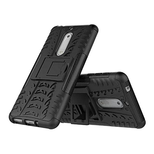 new concept d6864 046f5 TPU + PC Armor Hybrid Case Cover for Nokia 5