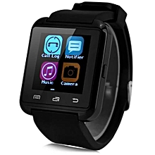 U8 - Smart Watch Bluetooth Answer And Dial The Phone 230mAh - Black