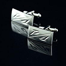Simple Bamboo Cufflinks Suit Lapel Men&#39s Wedding Party Gift Cuff Link
