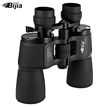 HD Vision Wide-angle Prism Binocular Outdoor Folding Telescope - Black