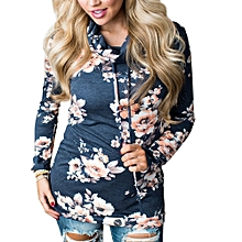 Generic Fashion Womens Casual Floral Sweatshirt Pullover Coat Outerwear Tops Blouse A1
