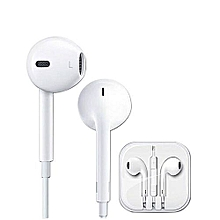 Earphone for Iphone and android phones- White