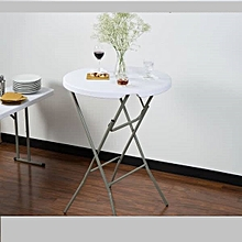 Foldable round table *small