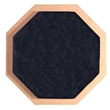 "6"" Soft Black Dumb Drum Pad Exercise Mat Blow Plate Drummer Rubber Double Side"