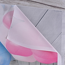 Andoer 1.5 * 2.1m/5 * 7ft Photography Background Balloon Window Backdrop Photo Studio Props