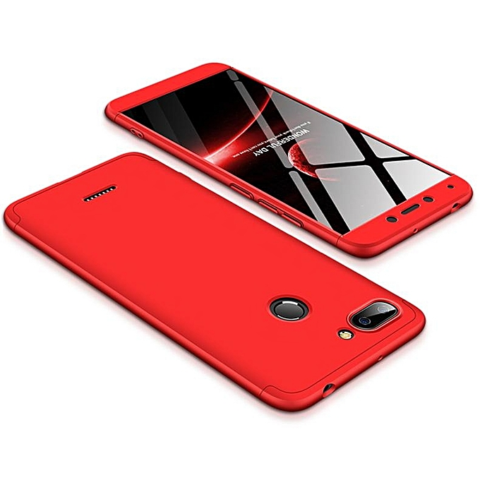 info for 152e5 d408a For Redmi 6 3 In 1 Hybrid Hard Case Full Body 360 Degree Protection Back  Cover 367595 c-1 (Color:Main Picture)