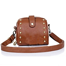Mini Bag Camera Bag Rivets Small Bag BW
