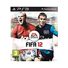PS3 Game FIFA 12