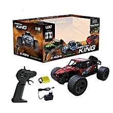 Remote Control Car/ Cheetah King, 2.4GHz 1:18 / High Speed / Shock Absorber /