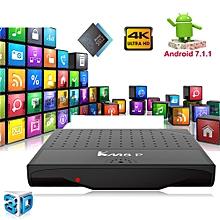 Octa Core Android 7.1 Nougat HDMI 2.0 Smart TV BOX WIFI 4K 3D Media Player