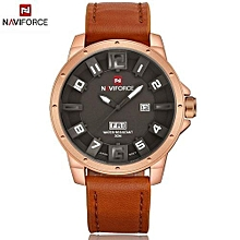 new luxury brand sports watches men quartz analog 3d dial date clock man leather strap army military watch relogios masculino