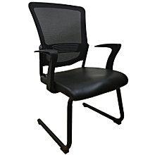 Special offer! Ergonomic Visitor Chair with Mesh Back and PU Seat