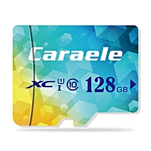 Caraele TF / Micro SD Card Storage Device XC Class 10 UHS-I LAKE BLUE 128GB