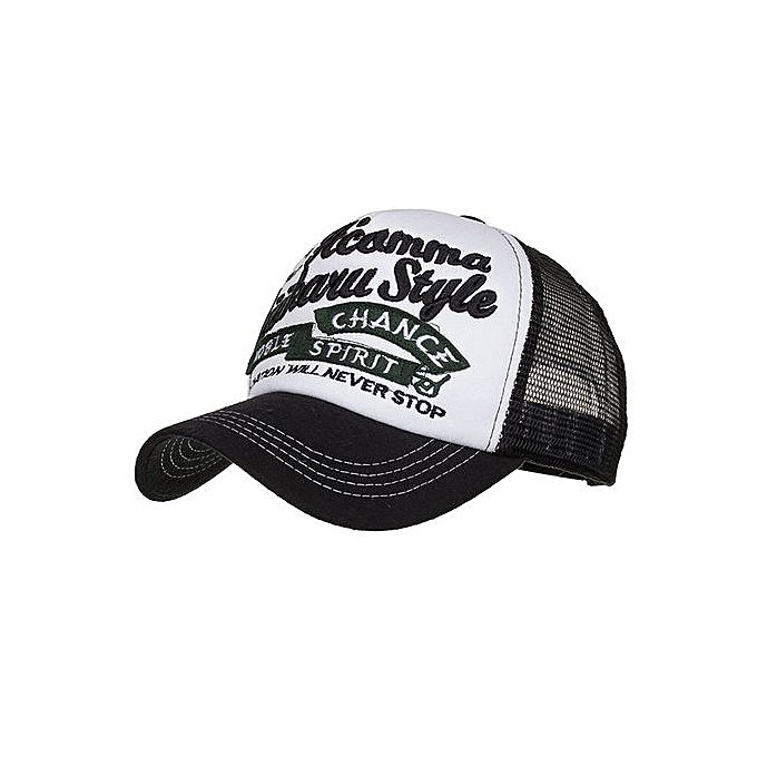 6f106ae0995 Fashion Women Men Adjustable Applique Embroidery Baseball Cap Hat Mesh Cap  Shade