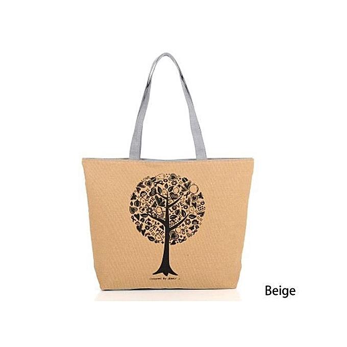 ace12ddc1a Fashion Shoulder Bags Female Package Canvas Bag Leisure Shopping Handbag