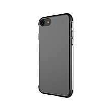Cheer Series - Back Cover Transparent TPU Protective For IPhone 7 - Black