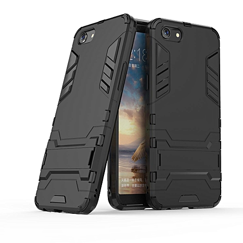 promo code a0d5a 04b7a For OPPO A83 Case Cover New Fashion Luxury Armor TPU + PC Protection  Shockproof Stand Phone Capa For OPPO A83 Cover Coque Funda