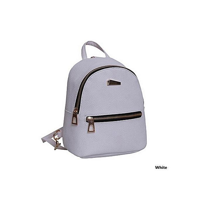 81ad42b008d3 5 Colors Mini Cute Backpacks PU Leather High Quality Women's Casual Travel  Rucksack Handbags School Bag
