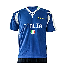 Jersey Football Italy- Fwc401royal- L