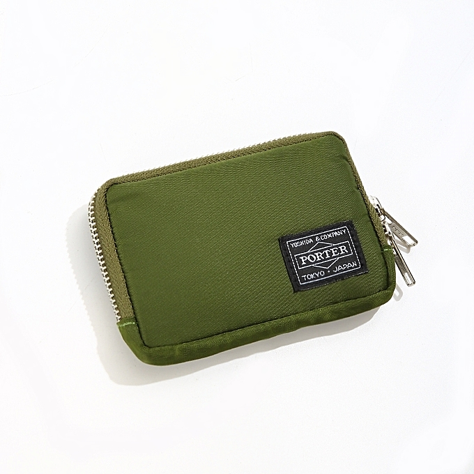 2e8860f0c153  ArmyGreen Tide brand POUCH men and women clutch bag coin purse coin card  package
