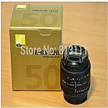 Nikon AF Nikkor 50mm F1.8 D F/1.8D Lens Black