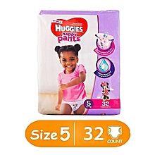 Pants Girl, Size 5 (12-17 Kgs) - 32 Pants
