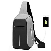 KAKA® Men Anti Theft Chest Bag Outdooors Travel Bag Waterproof Crossbody Shoulder Bag