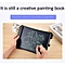 11 inch LCD Monochrome Screen Fine handwriting Writing Tablet High Brightness Handwriting Drawing Sketching Graffiti Scribble Doodle Board or Home Office Writing Drawing (White)