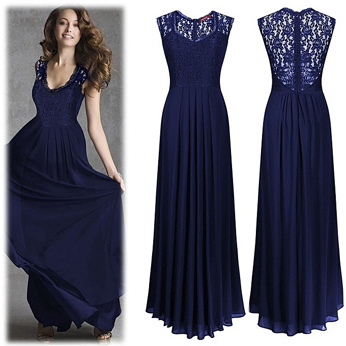 Buy Baby n Mum Long evening gown - navy blue @ Best Price Online ...