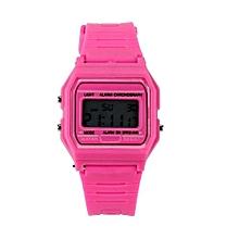 Tectores 2018 Fashion Multifunction New Silicone Rubber Strap Retro Vintage Digital Watch Boys Girls Mens PK