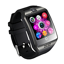 Q18 Bluetooth Fitness Tracker Smart Watch Anti-lost Passometer For IPhone Xiaomi Huawei Android Smartphone - Black