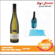 Laugel Cuvee Select Riesling White + Wine Bottle Chiller Foldable Free