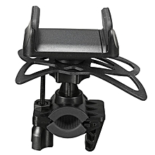 Universal Motorcycle MTB Bike Bicycle Handlebar Mount Holder For Cell Phone GPS Black
