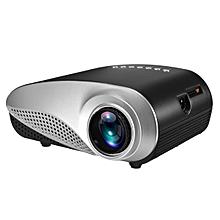 Professional 1080P HD 3D Mini Projector Multimedia Home Theater TV USB VGA HDMI US Plug