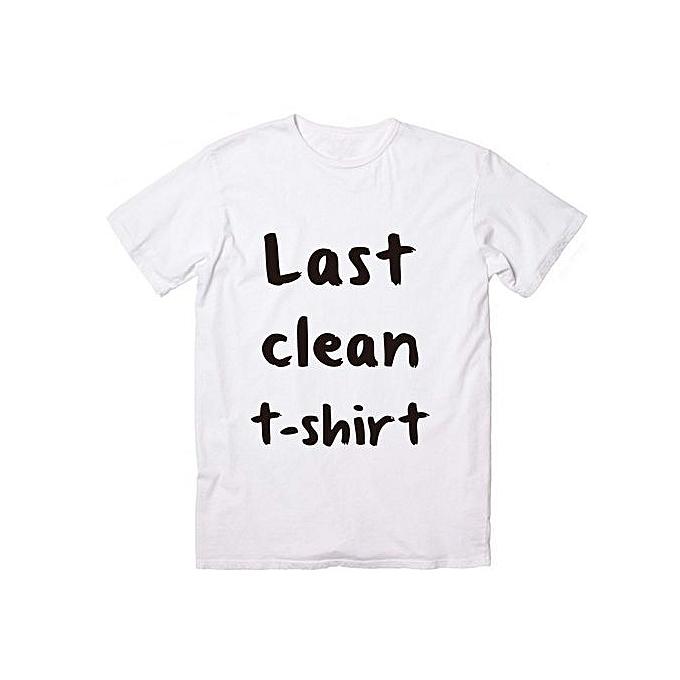 e17fc9eac Fashion Summer T-shirt Okstar Last Clean T-shirt-01 Top Tee Cara ...