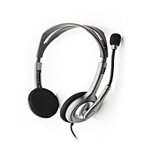 H111 Stereo Headsets- Black