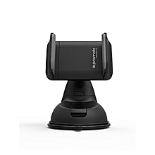 MOUNT-2: Black Universal Sturdy Universal Car Mount for All SmartPhones and Handheld Devices with 360⁰ Viewing & Secure Holder
